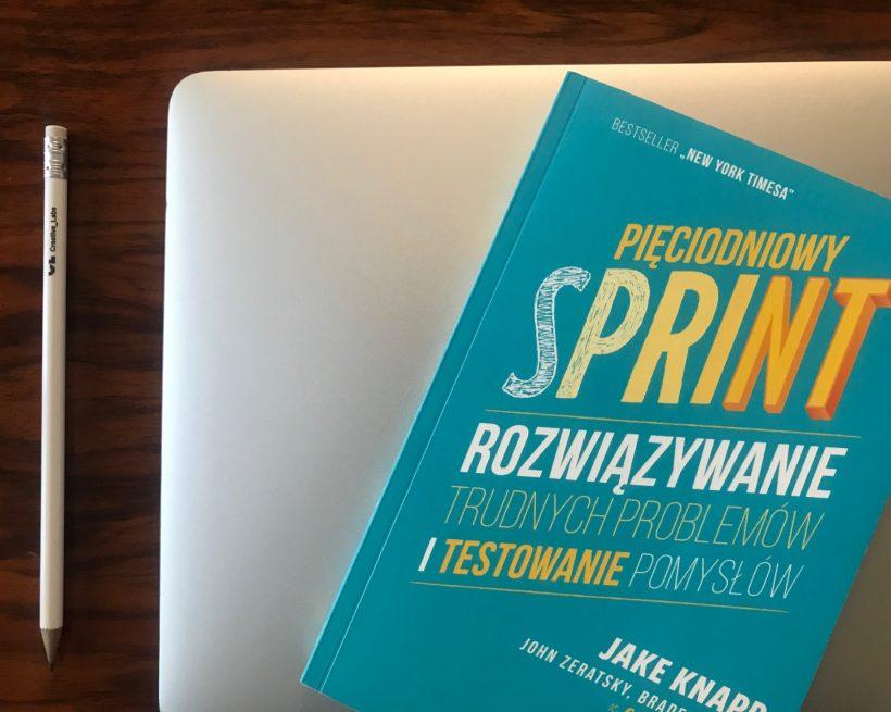 Pięciodniowy sprint – recenzja książki Jake'a Knappa.