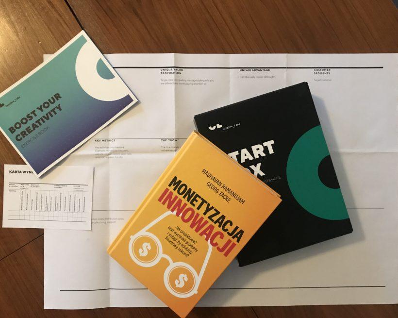 Monetyzacja Innowacji – recenzja książki Madhavana Ramanujama i George'a Tacke.